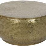 Table auxiliaire métal doré